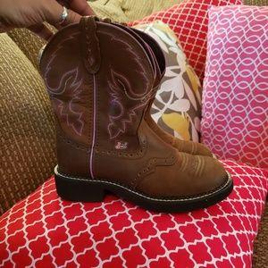Justin boots sz 7B